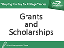 Screenshot of NC State Grants and Scholarships