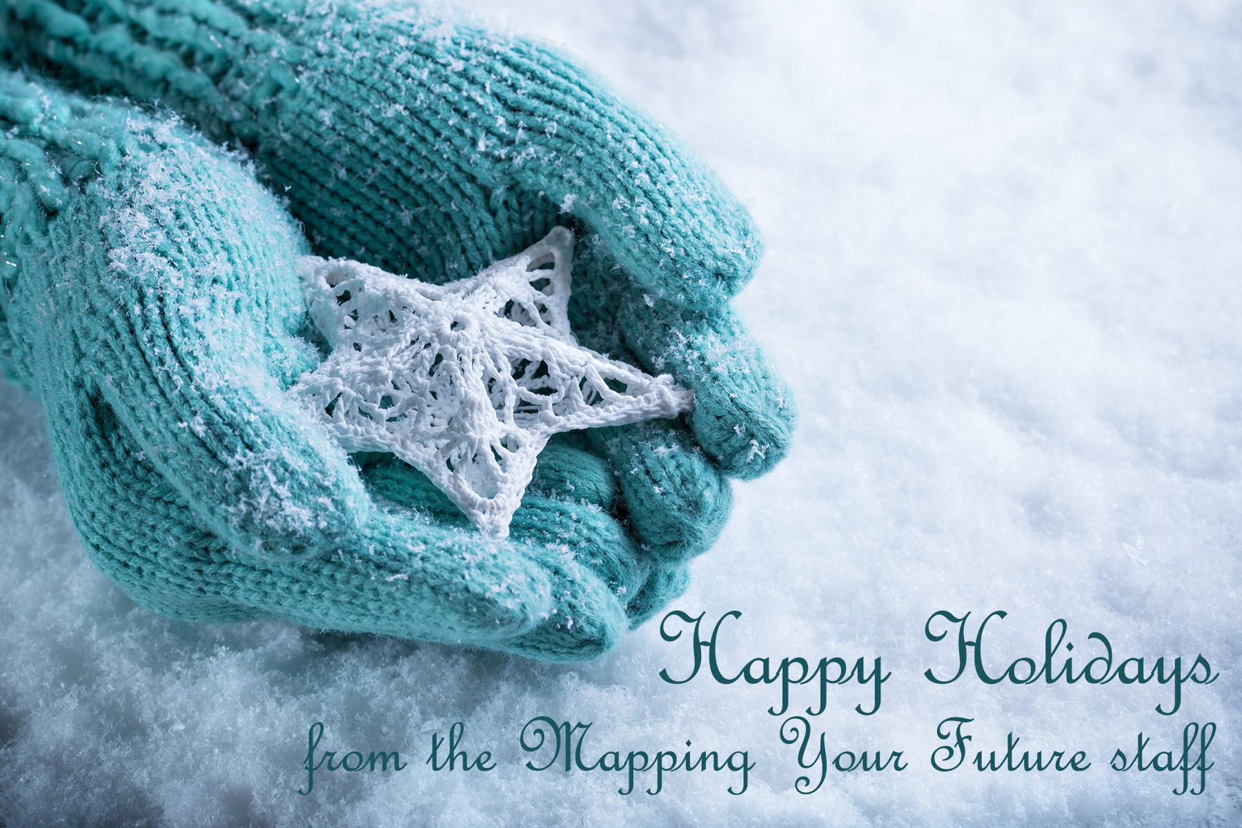 Happy holidays from Mapping Your Future