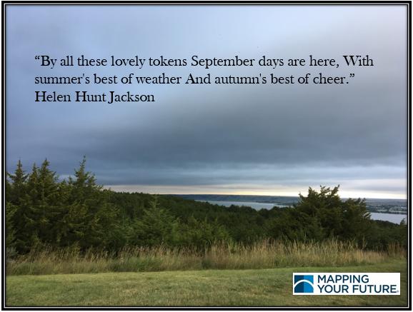 Helen Hunt Jackson September days quote