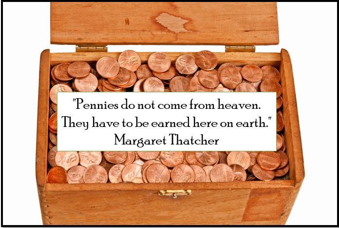 Pennies from heaven quote